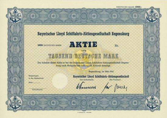 Bayerischer Lloyd-Aktie