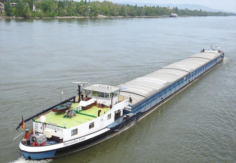 Reederei BAYERISCHER LLOYD  - MGS Walhalla
